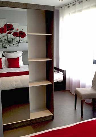 Hotel Aerogare chambre